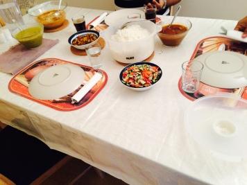 My curry dinner!