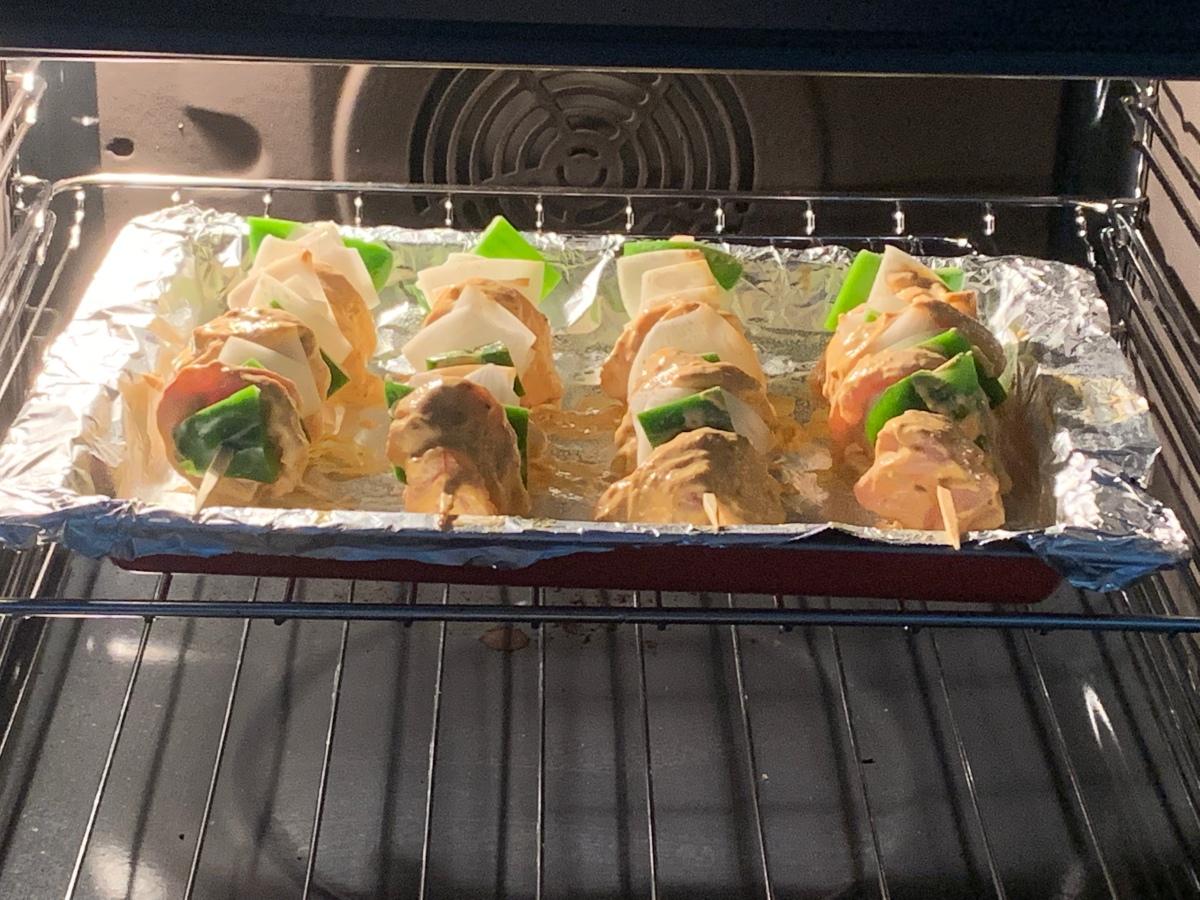 Kebabs for dinner
